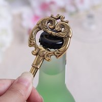 Wholesale 2015 Hot The Vintage Key bottle opener Creative novelty home party items wedding favors Wedding Party Gifts