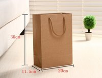 best shopping paper bag - Kraft Paper Bag Packaging Bags Gift Bags Shopping Bag cm Best Quality With Handle