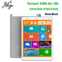 Wholesale In stock Teclast X98 Air G Dual Boot Intel Quad Core GHz android Tablet PC