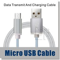 cable connector - Micro USB Cable Nylon Braided ft Cable High Speed USB A Male to Micro B Aluminum Shell Connectors for Samsung and Android Smartphone