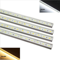 Wholesale Super bright LED Strip Light cm led SMD DC12V W LED Rigid Strip Aluminum Alloy Shell LED Bar Light LED Rigid Bar Light
