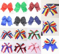 big present bow - Big sale12pc inch butterfly Girl baby present Grosgrain Hair bow elastic Y