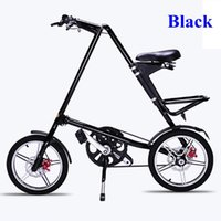 Wholesale Best STRIDA folding bike inch Aluminum alloy folding bike flexible inch Spokes none spoke wheels available colors for choice