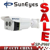 Wholesale SunEyes SP P901 ONVIF P2P P MP HD IP Camera Outdoor Project High Quality Array IR M SD TF Card Slot Two Way Audio