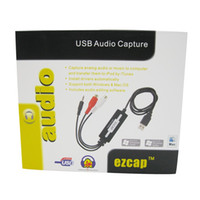 audio dvd format - 20pcs USB Audio Capture Cassette To CD MP3 Converter MP3 WMA WAVE Recorder Edit Audio to Digital Format RCA R L mm
