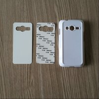 Cheap For samsung galaxy Ace4 G357 blank metal aluminium insert sublimation cover case free shipping DHL Fedex