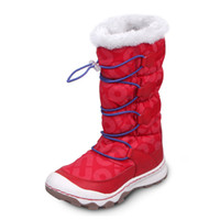Wholesale UOVO Winter Christmas Girls Snow Boots Women Boots Non Slip Kid Boots Wearable Space Leather Girls Winter Boots For Girls CN Size