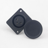 Wholesale Mobility scooter parts XLR Charging Port with Cap Charger Socket a Pack