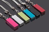 Wholesale Customized Metal usb flash drive mini gift pen dirve usb pendrive GB Memory stick U disk With chain Key Chain