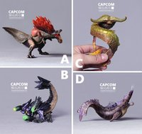 Wholesale Genuine bulk Monster Hunter CAPCOM print G of large goods set King Daquan ecological model