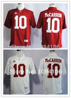 authentic alabama jerseys - Factory Outlet Cheap AJ Mccarron White Red Elite Alabama Crimson Tide College Embroidery Logo Authentic Football Jerseys Sewn On Jersey