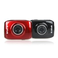 red camera - 2 Colors HD P Waterproof LED Touch Screen Sports Action Camera Mini Digital Camcorder with Waterproof Case Black Red D931