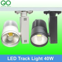 led track lighting - LED W Track Light COB Rail Light Equal w Halogen Lamp Store Spotlight V V V V V V Track Lighting Clothing Lights