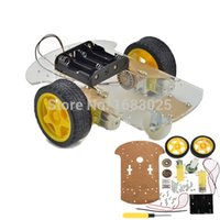arduino speed - High Quality wd Motor Smart Robot Car Chassis Kit Speed Encoder Battery Box For Arduino order lt no track