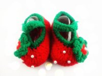 beautiful footwear - Beautiful Floral Pure Cotton Baby Crochet Shoes Knitted Footwear First Walking Shoes Color For Hot Sale
