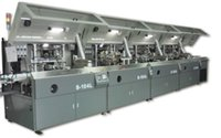 automatic print screen - 4 Color Fully Automatic UV Screen Printing Machine Full automatic color printing machine Full automatic screen printing machine