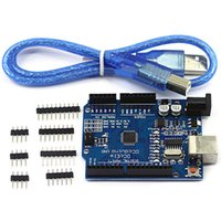 Wholesale New Hot ATmega328P CH340G UNO R3 Development Board USB Cable for Arduino DIY VE098 W0