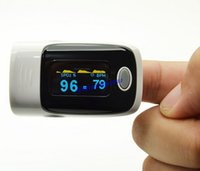 Wholesale Digital OLED finger pulse oximeter oxymeter alarm SPO2 Blood Monitor health care Direction Display four display modes home health care