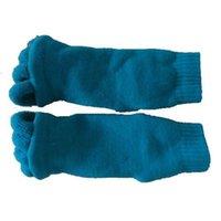 Wholesale-gran promoción alineación del pie Calcetines - azul de cielo