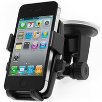 Wholesale Universal Powerful Car Sticky Suction Rotate Pad Phone Holder stander For iPhone s s plus for samsng s4 s3 s5