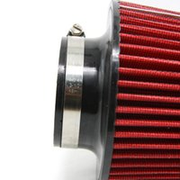 Wholesale Universal Car Air Filters Intake Kit fit quot quot Pipe Round Tapered Clamp On Stack Filtration Micro Cotton Gauze order lt no track