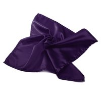 Wholesale Best Promotion Square Satin Napkins Elegant Wedding Party Table Top Supply Colors New Arrival