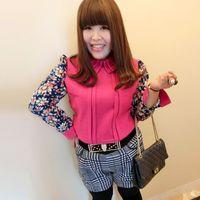 Wholesale Sugar Sugar addiction is still large size women s new spring Korean version bottoming shirt big yards fat mm thin woolen shirt x