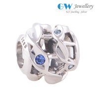 Cheap Authenic 925 sterling silver charm beads craft fits European jewelry brand bracelet X004