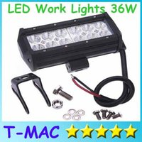 Wholesale Waterproof IP67 inch W lm offroad LED Work Light Bar truck SUV jeep boat working lamps bulbs LEDs off road driving lights bar