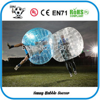 Cheap Wholesale-Free Shipping 1.5M Bubble Soccer,Loopy Ball 0.8mm Human Hamster Ball ,Inflatable Body Zorb Ball For Sale,Bubble Football,Bumper