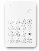 Cheap WIRELESS RFID KEYPAD KP-700 for RFID cards, tags and 125KHz passive transponders RFID for Chuango G3 G5 315mhz