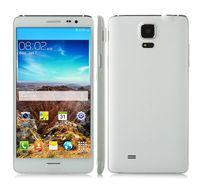 all'ingrosso star n9500-Stella N9500 5.7 nucleo quadrato di pollice MTK6582 1.3GHz Android 4.4.2 dello schermo HD 1280x720 pixel 8.0MP fotocamera 1 GB di RAM 8GB di ROM smart phone 3G DHL libero