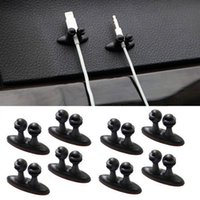 Wholesale High Quality Self adhesive Clamp Car Wire Cord Clip Cable Holder Tie Clips Fixer Organizer