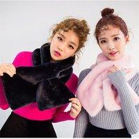 angora scarves - Korean winter winter Korean version of aristocratic temperament imitation fur collar white angora scarves a generation of fat