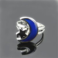 mood rings - Moon Mood Rings nice ring fashion rings moon and stars mood ring