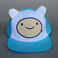 Wholesale New Arrival Adventure Time Hat Baseball Caps Finn Cartoon Movie Hat cm cm n