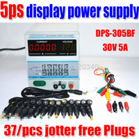 Wholesale 5Ps Display V or V Digital Control v a adjustable digital dc power supply for Laptop Repair with free Plugs order lt no track