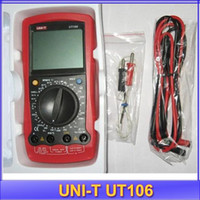 automotive amp meter - UNI T UT106 LCD Digital Multimeter DC Amp AC DC Volt Ohm Hz Temp Meter handheld Automotive Multimeters