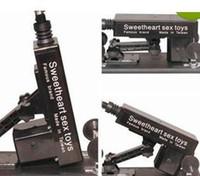 Wholesale Sex Machine Gun Fuck Fucking love make gun with Big Dildo Sex Machine For Female anal toy vibrator