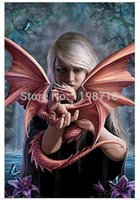 anne stokes - Anne Stokes Dragon Dragon Mother x75cm posters wall sticker family gift