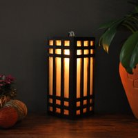 asian wall lights - Thai specialties decorative wooden crafts Southeast Asian style decorative lighting table lamp wall lamp Features