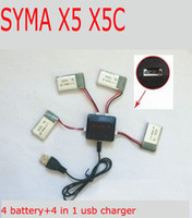 Wholesale Drone syma x5c parts X5 charger X5A X5C RC Quadcopter Spare To charger cable