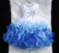 sexy ball gowns - Vestido New Arrival Vestidos Fast Shipping Summer Fall Quinceanera Dresses Beadeds Cocktail Party Dress Mini Crystal Homecoming Gown