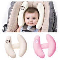 baby head support - Baby Stroller Pillows Infant Car Seat Head Neck Protection Pillow Bebe Boys Girls Soft Adjustable Head Support Drop Shipping