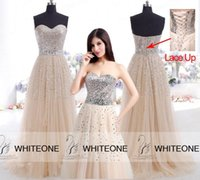 Cheap 2015 Evening Dress Best Crystal Prom Dress