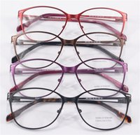 Wholesale optical glasses frame women prescription glasses stainless steel round frame eye glasses clear safe comfortable glasses