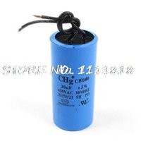 ac capacitor wiring - CBB60 AC V uF Two Red Wire Terminal Motor Run Capacitor
