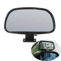 Wholesale 2015 New Black Auxiliary Blind Spot In Wide View Mirror Rearview With Small Side nd Clip order lt no track