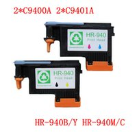 Wholesale SET Work excellently print head for HP940 C4900A C4901A for hp printhead For HP printer