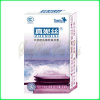 Wholesale Strawberry Flavor condom penis sleeve sex products for men